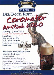 Arcobräu Coronator Anstich 2020 Straubing